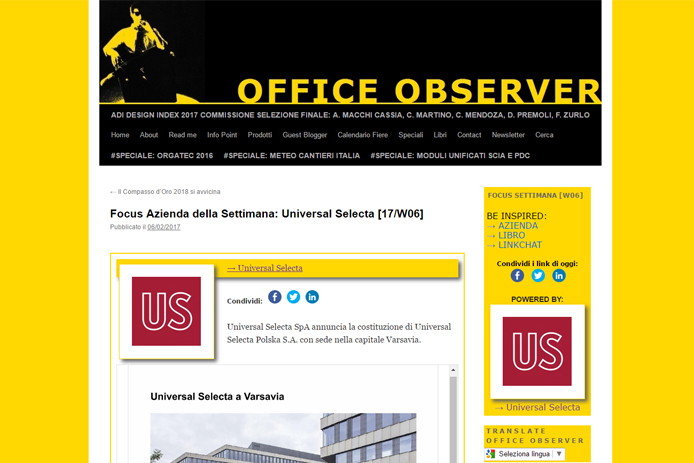 US Polska su Office Observer