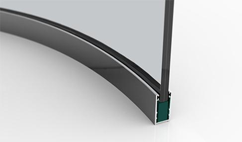 Parete Curva Arredamento.Pareti Mobili Roundwall Universal Selecta Spa